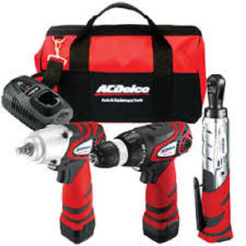 Picture of ACDelco ARZC-12-SP2 12V 3-in-1 Combo Kit