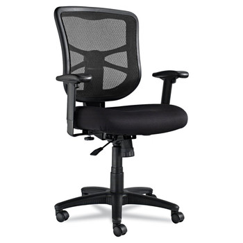 Picture of Alera EL42BME10B Elusion Series Mid-Back Mesh Office Chair Black