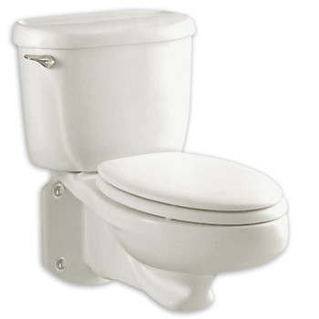 Picture of American Standard 2093100020 Glenwall Elongated 2-Piece Wall Mount Toilet White