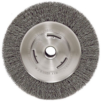 Picture of ATD 8251 6 in Heavy-Duty Wire Wheel Brush