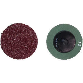 Picture of ATD 87224 2 in 24 Grit Aluminum Oxide Mini Grinding Discs