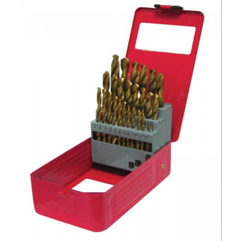 Picture of ATD 9229 29-Piece Titanium Coated Premium Drill Bit Set