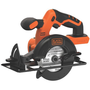 Picture of Black  Decker BDCCS20B 20V MAX Cordless Lithium-Ion 5-12 in Circular Saw Bare Tool