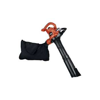 Picture of Black  Decker BV5600 12 Amp High Performance Two Speed Handheld Electric Mulcher Blower Vac