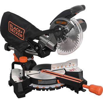 Picture of Black  Decker SM1850BD 9 Amp 7-14 in Sliding Compound Miter Saw