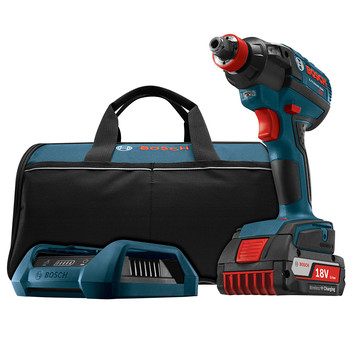 Bosch IDH182WC-102 18V 2.0Ah Cordless Lithium-Ion 1\/2 in. Brushless Socket Ready Impact Driver Wireless Kit