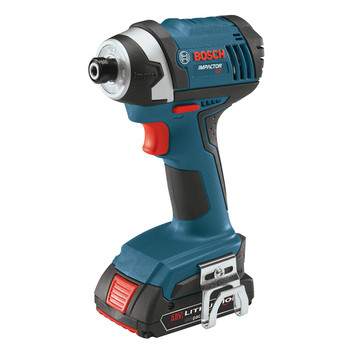 Bosch IDS181-102 18V Cordless Lithium-Ion 1\/4 in. Hex Impact Driver Kit
