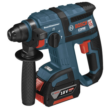 Bosch RHH181-01 18V Cordless Lithium-Ion 3\/4 in. SDS-Plus Rotary Hammer with FatPack Batteries