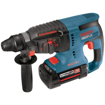 Bosch 11536VSR-RT 36V Cordless Lithium-Ion 1 in. SDS-plus Rotary Hammer