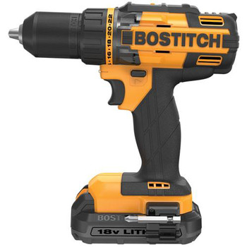Bostitch BTC400LBR 18V Cordless Lithium-Ion 1\/2 in. Drill Driver Kit