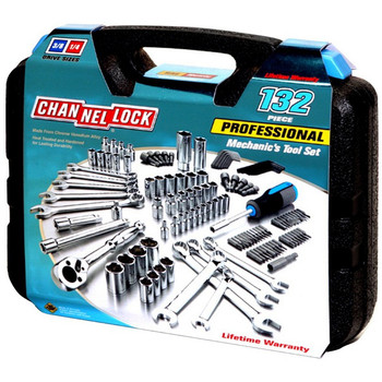 Picture of Channellock 39067 132 Piece Mechanic's Tool Set