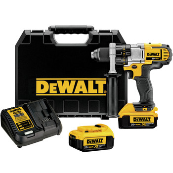 Dewalt DCD980M2 20V MAX Cordless Lithium-Ion 1\/2 in. Premium 3-Speed Drill Driver Kit with 4.0 Ah Batteries