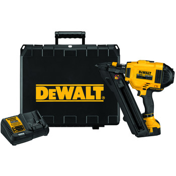 Dewalt DCN693M1 20V MAX 4.0 Ah Cordless Lithium-Ion 2-1\/2 in. 20-Degree Metal Connector Nailer Kit