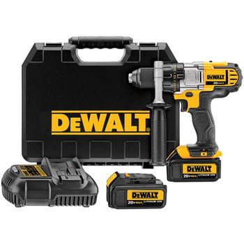 Dewalt DCD980M2R 20V MAX Cordless Lithium-Ion 1\/2 in. Premium 3-Speed Drill Driver Kit with 4.0 Ah Batteries