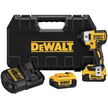 Dewalt DCF886M2R 20V MAX XR Cordless Lithium-Ion 1\/4 in. Brushless Impact Driver Kit with 4.0 Ah Batteries