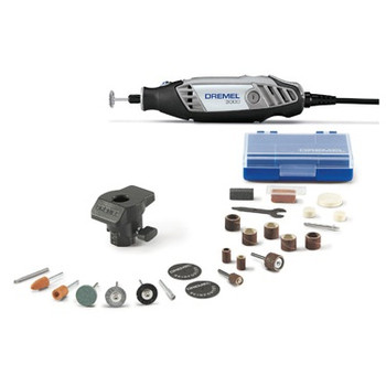 Dremel 1\/24\/3000 120V 1.2 Amp Variable Speed Rotary Tool Kit with 1 Accessory and 24 Attachments