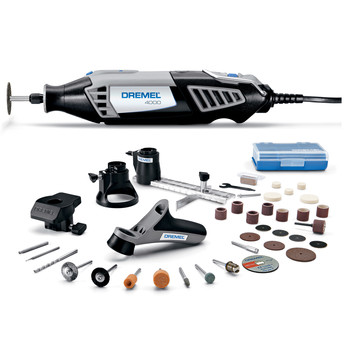 Dremel 4000-4\/34 High Performance Variable-Speed Rotary Tool Kit with 4 Attachments and 34 Accessories