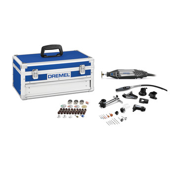 Dremel 4200-8-64 77-Piece High Performance Corded Rotary Tool Kit with EZ Change Platinum Edition
