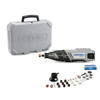Dremel 1\/28\/8220 12V Max Cordless Lithium-Ion Rotary Tool Kit with 1.5 Ah Battery Pack
