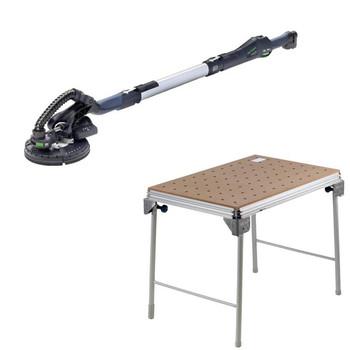 Picture of Festool C10500608 Planex Drywall Sander plus MFT3 Basic  Multi-Function Work Table
