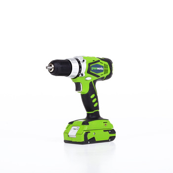 Greenworks 37012B G24 24V Cordless Lithium-Ion 1\/2 in. Drill Driver