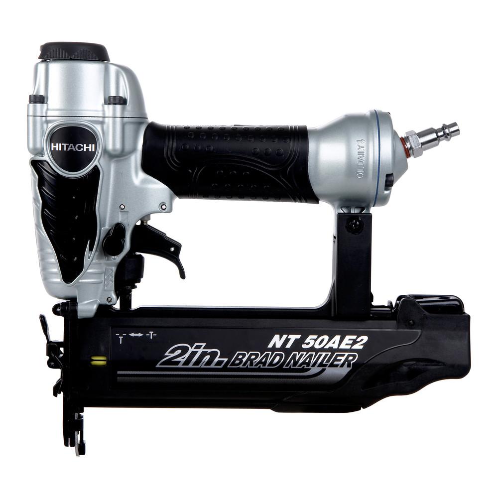 Hitachi 18-Gauge 2 in. Finish Brad Nailer Kit NT50AE2 Recon