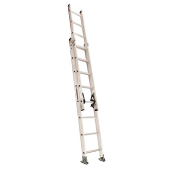 Picture of Louisville AE2216 16 ft Type IA Duty Rating 300 lbs Load Capacity Aluminum Extension Ladder