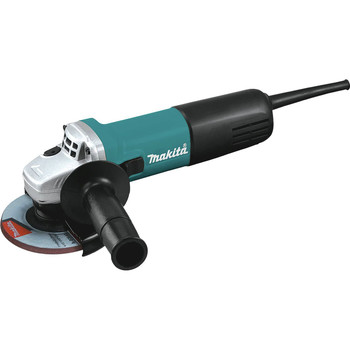 Makita 9557NB 7.5 Amp 4-1\/2 in. Slide Switch AC\/DC Angle Grinder