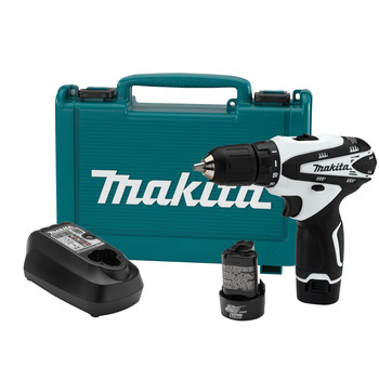 Makita FD02W 12V MAX Cordless Lithium-Ion 3\/8 in. Drill Driver Kit