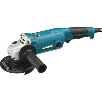 Makita GA5020Y 5 in. Trigger Switch 10.5 Amp Angle Grinder with SJS