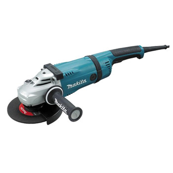 Makita GA7031Y 7 in. Trigger Switch 15 Amp Angle Grinder with Lock-Off & No Lock-On
