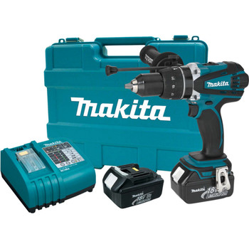 Makita LXPH03 18V Cordless LXT Lithium-Ion 1\/2 in. Hammer Driver Drill Kit