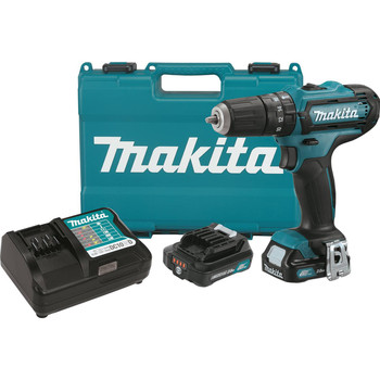 Makita PH04R1 12V MAX CXT 2.0 Ah Cordless Lithium-Ion 3\/8 in. Hammer Drill Driver Kit