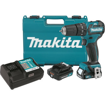 Makita PH05R1 12V max CXT 2.0 Ah Lithium-Ion Cordless Brushless 3\/8 in. Hammer Drill Driver Kit