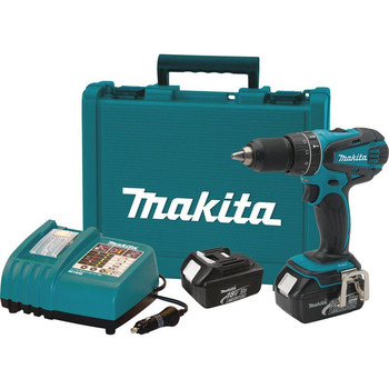 Makita XPH01A 18V LXT 3.0 Ah Cordless Lithium-Ion 1\/2 in. Hammer Drill Driver Kit
