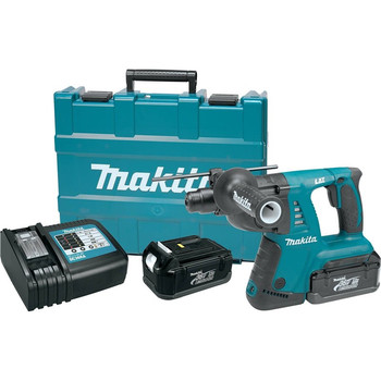 Makita HRH01-R 36V Cordless LXT Lithium-Ion 1 in. SDS-Plus Rotary Hammer Kit