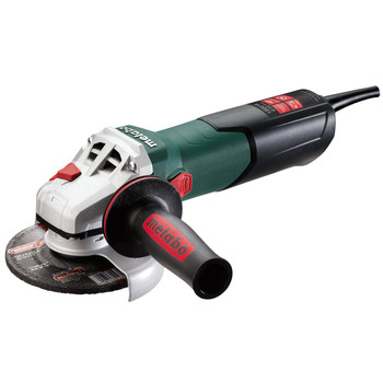 Metabo 600388420 9.5 Amp 5 in. Angle Grinder with VC Electronics and Lock-On Slide Switch