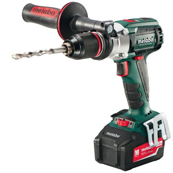 Metabo 602240520 18V 5.2 Ah Cordless Lithium-Ion Brushless 1\/2 in. Hammer Drill Driver Kit
