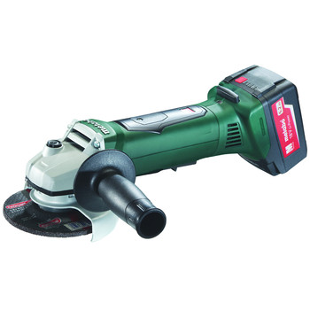 Metabo 613071520 18V 5.2 Ah Cordless Lithium-Ion 4-1\/2 in. Non-Locking Angle Grinder Kit