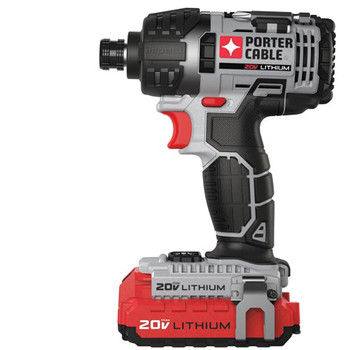 Porter-Cable PCCK640LB 20V MAX Cordless Lithium-Ion 1\/4 in. Hex Impact Driver