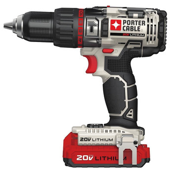 Porter-Cable PCC620LBR 20V MAX Cordless Lithium-Ion Hammer Drill Kit