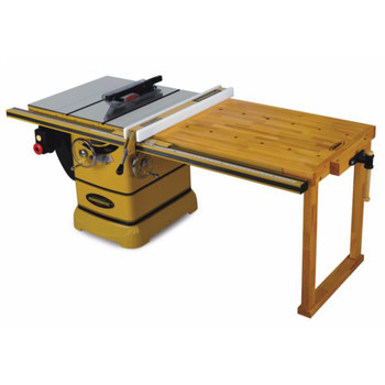 Powermatic 1792017K 5 HP 10 in. Single Phase Left Tilt Table Saw with 50 in. Accu-Fence, Workbench and Riving Knife