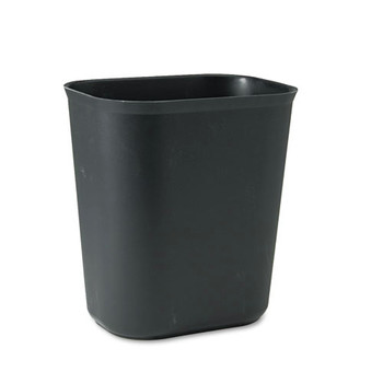 Picture of Rubbermaid 254100BK 35 Gal Fire-Resistant Wastebasket Black