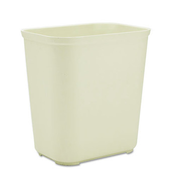 Picture of Rubbermaid 254300BG 7 Gal Fire-Resistant Wastebasket Beige