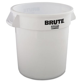 Picture of Rubbermaid 2610WHI 10 Gal Round Brute Container White