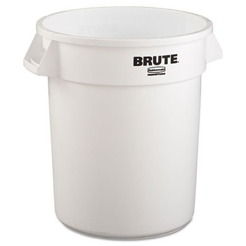 Picture of Rubbermaid 2620WHI 20 Gal Round Brute Container White