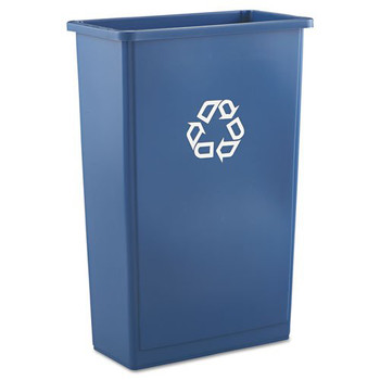 Picture of Rubbermaid 354074BLU 23 Gal Slim Jim Recycling Container Blue