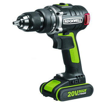 Rockwell RK2852K2 20V Max Cordless Lithium-Ion 1\/2 in. Brushless Drill Driver Kit