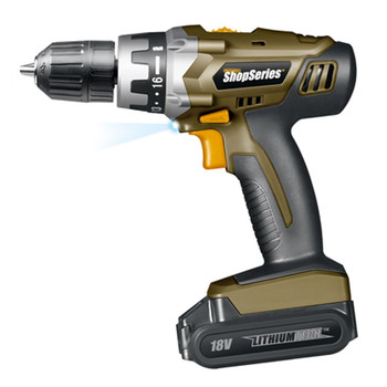 Rockwell SS2800 ShopSeries 18V Cordless Lithium-Ion 3\/8 in. Drill Kit