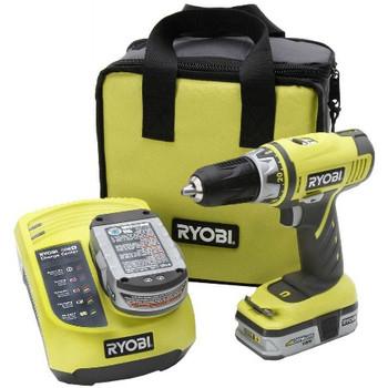 Ryobi ZRP816 ONE Plus 18V Cordless 1\/2 in. Drill Kit
